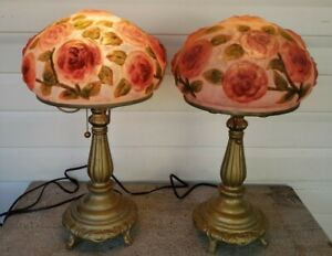 Pairpoint Puffy Pansy Lamp