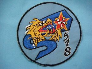 VIETNAM WAR PATCH,  ARVN AIR FORCE 518th FIGHTER SQUADRON