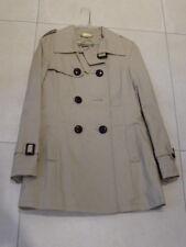 Mantel Trenchcoat Kurzmantel Street One Gr. 38 beige hellbraun frisch gereinigt