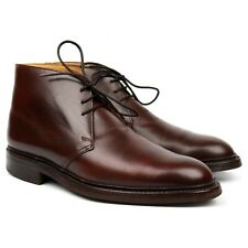 Crockett & Jones 'Chepstow' Brown Leather Chukka Boots UK 9 E