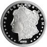 1 Troy oz Sunshine Mint Morgan Design .999 Fine Silver Round Mint Mark SI