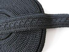Posamentenborte elastisch 43 mm schwarz