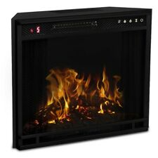 Ryan Rove 23 Inch Flat Ventless Heater Electric Fireplace Insert
