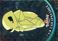 POKEMON Carte TOPPS METAL (HOLO) NEUVE N°  14 COCONFORT