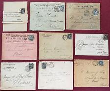 France-Lot-Enveloppes/Carte avec type Sage