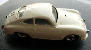 Dinky Meccano Die Cast Model Vehicle 182 Cream Porsche 356A Car (Shop Ref D051)