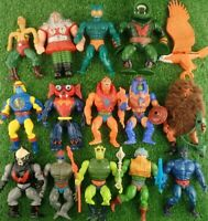 Bundle of Vintage 1980's Masters Of The Universe He Man Action Figures