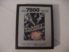 Atari 7800 Planet Smashers video game cartridge[untested]