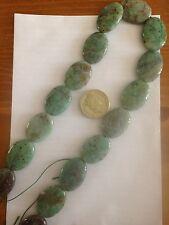 Semi Precious Stone Perles x 1 Chrysocole Strand