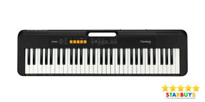 CT-S100, Casio Portable Electric Digital Keyboard Piano, For Beginners  - Black