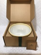 Longaberger Pottery Large American Holly Serving Bowl 10.5 D Christmas-New