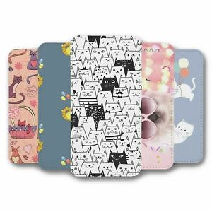 For Samsung Galaxy S7 Flip Case Cover Cats Collection 3