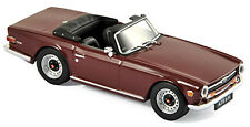Triumph TR6 Roadster 1968-76 Damson red rot1:43 Norev