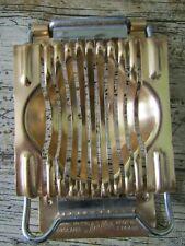 More details for tala vintage gold metal egg slicer - kitchen bling !