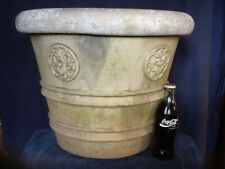 large antique Galloway pottery philadelphia Terracotta Ceramic signed Garden urn