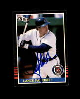 Lance Parrish Hand Signed 1985 Donruss Detroit Tigers Autograph