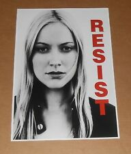 Resist The Fringe Poster Original 19x13