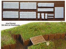 Diorama Schützengräben / Stellungsbau 1:72 (10) **NEU**
