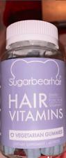 SugarBearHair Sommeil Mélatonine Magnésium, Valériane Racine Citron 30 Gummies