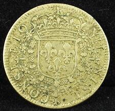 Jeton french token Louis XIV XIIII ca.1640 NIL NISI CONSILIO Medal