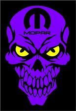 MOPAR Skull decals PUR Sticker Dodge Charger Challenger Ram Dart 1500 Hemi Truck