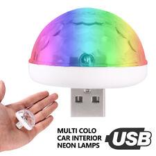 Accessoires lampe contrôlés intérieurs colorés lumière ambiance voiture USB LED
