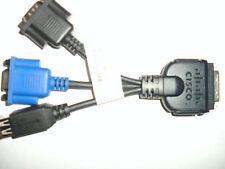 Cisco C210 KVM VGA DB9 RS232 USB Adapter Kabel Rev. A0 45437 37-1016-01
