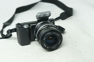 SONY E MOUNT ADAPTED 28MM F2.8 CARL ZEISS JENA II WIDE PRIME LENS A7 NEX,A6000
