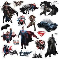 BATMAN VS. SUPERMAN wall stickers 18 decals superhero room decor V  DC comics