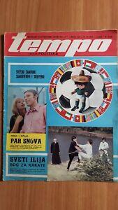 SPORT MAGAZINE TEMPO 1970 FIFA World Cup Mexico 70 cover page Yugoslavia edition