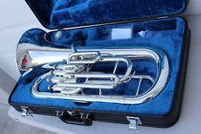 Yamaha YEP321 Euphonium Horn YEP 321 Baritone Case & Mouthpiece GREAT CONDITION