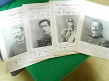 Outstanding 1914 The Times of London 4 Magazines-HISTORY OF THE WAR (WWI)..SALE