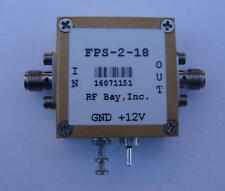Frequency Divider 0.2-18GHz Div 4, FPS-2-18, New, SMA