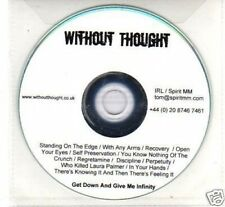 (I878) Without Thought, Get Down & Give Me Infin- DJ CD
