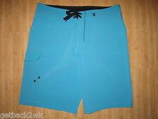 NEW HURLEY BOARDSHORTS SHORTS MENS 34 Blue Swimsuit $65 Retail NWT