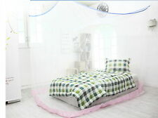 Portable Insect Mosquito Fly Bug Net Netting Screen Bed Canopy 7-8P Large White