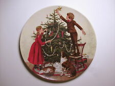 vintage 1983 Edwin M Knowles Christmas Collector Plate Don Spaulding