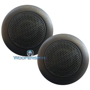 (2) ALPINE TYPE-R CAR AUDIO TWEETERS SPEAKERS FROM SPR-60c SPR-50c COMPONENT NEW