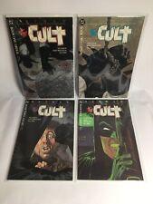 Batman The Cult DC Comics Complete 1 to 4 1988 First Print NM