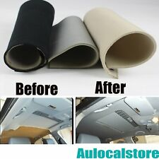 Customized Car Vehicle Roof Foam Headliners Fabric Reupholstery Saggy Ceiling