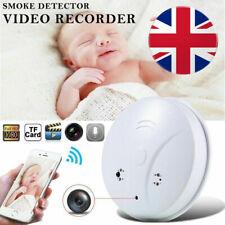 HD 1080P Spy Hidden WiFi IP Camera Smoke Detector Motion Detection Nanny Cam DVR