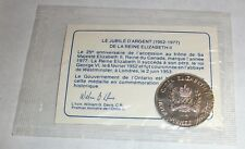 1952-1977 QUEEN ELIZABETH SILVER JUBILEE MEDALLION TOKEN COMMEMORATIVE 25TH YEAR