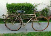 Rare Antique Yale Wood Wheel 28 Inch Bicycle the consolidated mfg 1900's