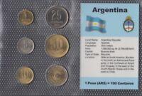 Argentinien Stgl./unzirkuliert Kursmünzen 1992-200 (9146533