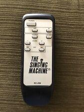 The Singing Machine Karaoke Remote Control RC-299