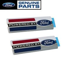 Ford Performance M-16098-PBF Powered by Ford Emblems Fender Badges Chrome - Pair