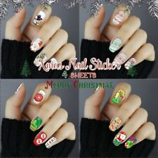 Full Nail/Wrap Christmas Nail Art Stickers
