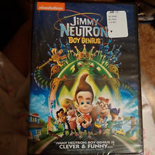 Jimmy Neutron Boy Genius Nicolodeon Cartoon DVD SEALED!!