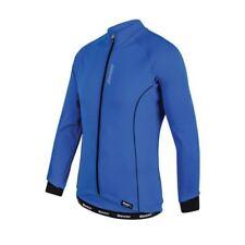 Maillots de ciclismo de manga larga en azul talla XL