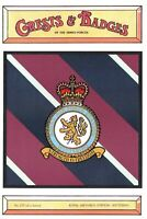 Postcard RAF Royal Air Force Station WITTERING Crest Badge No.137 NEW